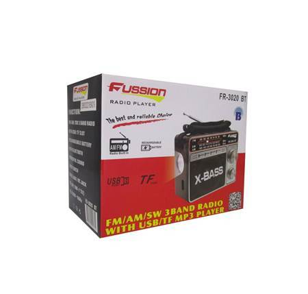 Picture of FR-3020 BT FUSSION RADIO/1*30