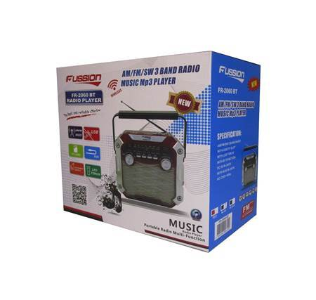 Picture of FR-2060 BT FUSSION RADIO/1*30