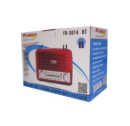 Picture of FR-3014 BT FUSSION RADIO/1*24