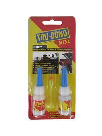 Picture of GLU155 TRU-BOND MINI GREY/1*60