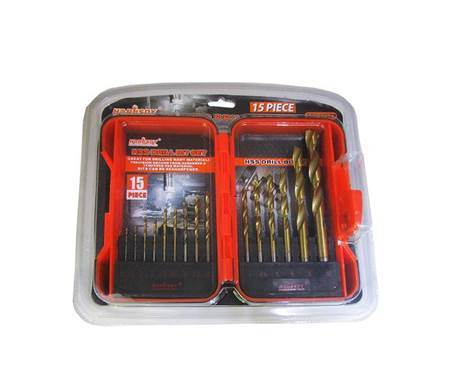 Picture of BS-0689 15P HSS DRILL BIT SET/1*48