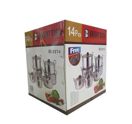 Picture of BS-5274 14PC POT 16-28CM/1*2