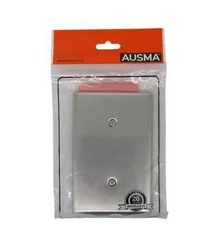 Picture of AUS A200(S)-S silver cover plate 2*4/1*96