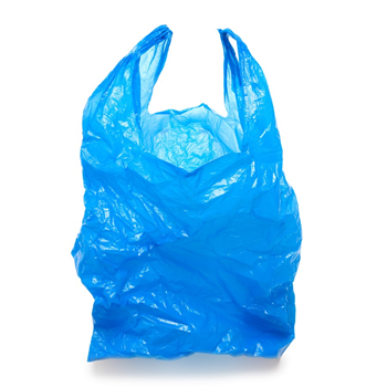 Picture of HANDY BLUE BAG 100P GYG/1*10
