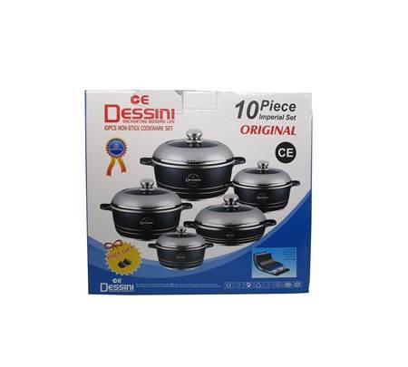 Picture of 10PC Non stick cookware set Imperial/1*4
