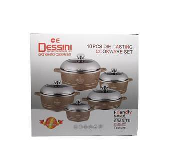 Picture of 10PC Non stick cookware set Die casting/1*4