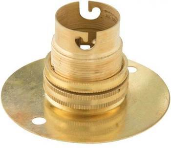 Picture of BS-3181 B22-0Gold lamp holder/1*360