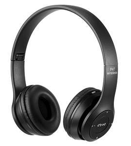 Picture of P47 Wireless Bluetooth Headphones Black