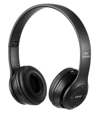 Picture of P47 Wireless Bluetooth Headphones Black