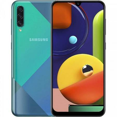 Picture of Samsung A50s Dual Sim Green