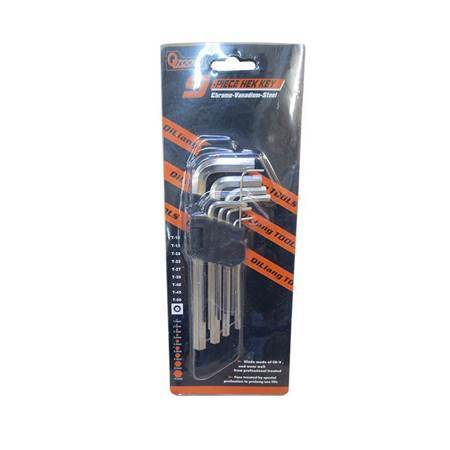 Picture of BS-6015 9.PLECE HEX KEY/1*60