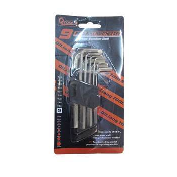 Picture of BS-6016 9 PLECE BRLL POINT HEX KEY/1*72
