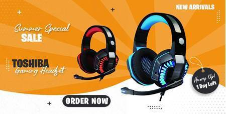 Picture of Toshiba Gaming Headsets