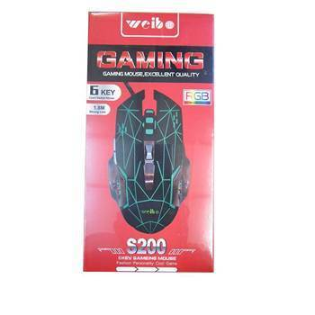 Picture of BS-4022 S200 6 KEY GAMEING MOUSE/1*60