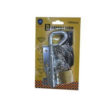 Picture of BS-0746 4'' bolt+ bukle+LOCK/1*360