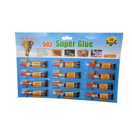 Picture of 502 Super glue 12ps/1*100