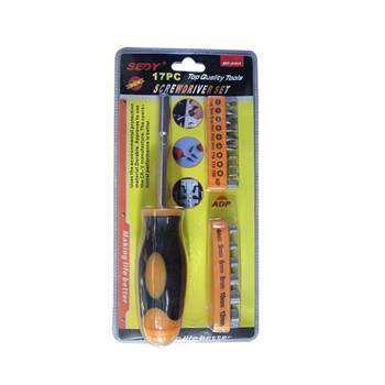 Picture of SDY-91010 17p top screwdriver set/1*60