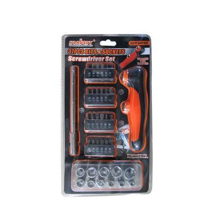 Picture of SDY-94166 37pcs bits&sockets/1*48