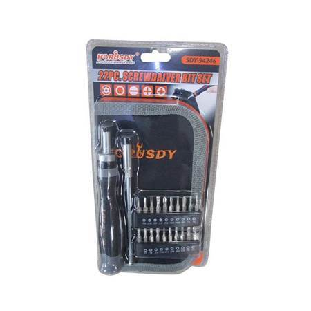 Picture of SDY-94246 22p screwdriver bit set/1*48