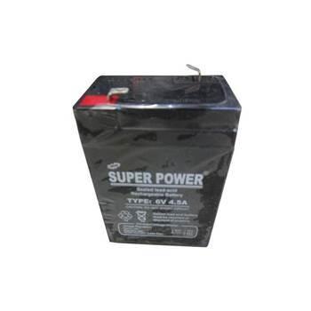 图片 6v4.5A(super power battry)/1*20
