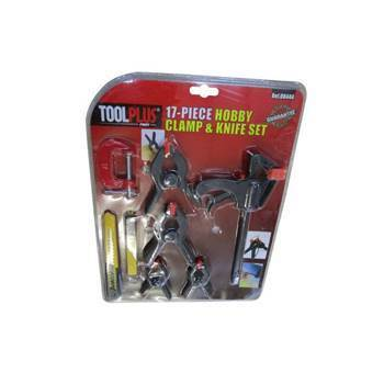 Picture of 08444 17p Hobby clamp&knife set /1*40