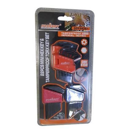 Picture of SDY-94287 22p  Tamperproof torx key set/1*72