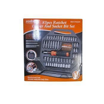 Picture of SDY-94229 83P Ratchet driver&socket bit set/1*20