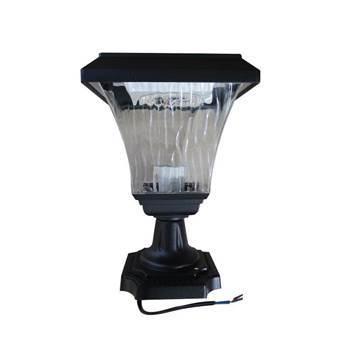 图片 SUN-XSFZT Outdoor solar lamp with pole/1*12