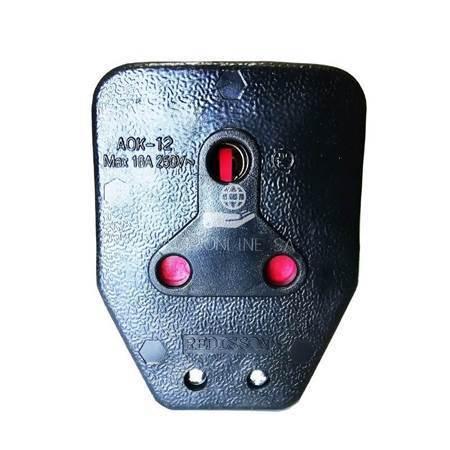 Picture of AOK-12B Janus Coupler black/1*100
