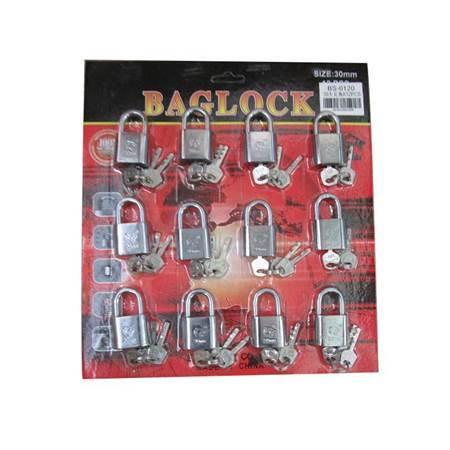 图片 BS-0120 12PCS 30MM LOCK/1*20