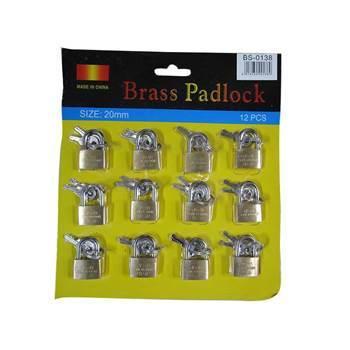 Imagem de BS-0138(20mm*12 Brass Padlock)/1*50