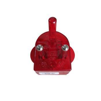 Picture of UL-R16R 5pcs 2PIN PLUG RED/1*60