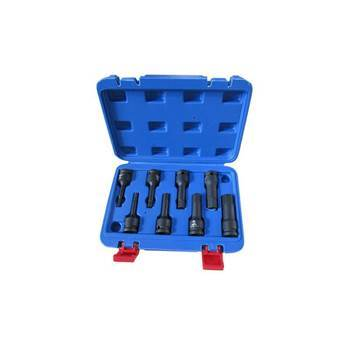Picture of JS04-012  1/2'' 8P 'H' rotating socket set/1*10
