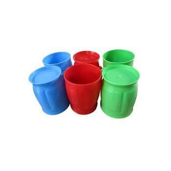 Imagem de Potty coffe mug 6p bright plastics/1*30