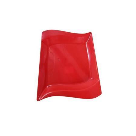 Picture of Oval plate  bright plastics/1*100