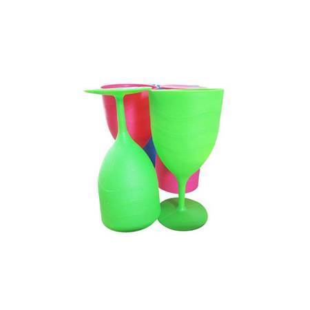 Picture of Wine cup 6p bright plastics/1*24
