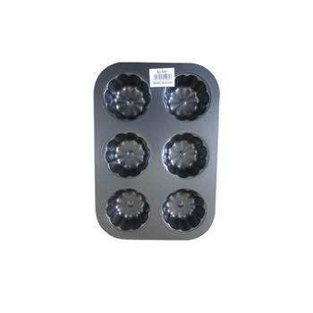 Picture of BS-5481 6hole SHAPED BAKING PAN/1*100